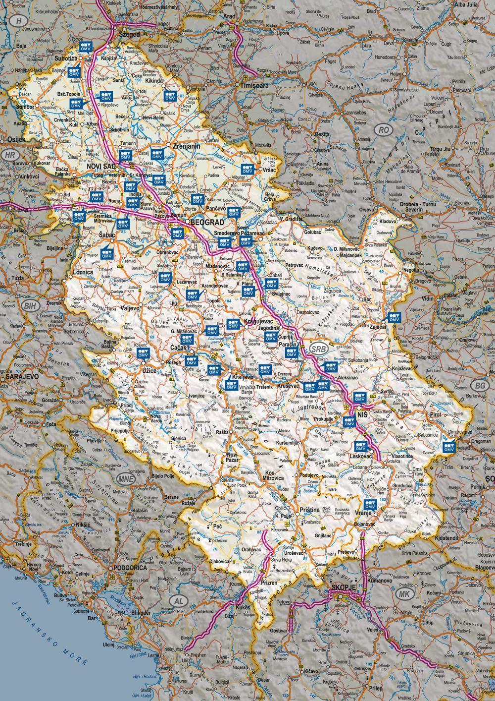 mol pumpe srbija mapa Najveća mreža stanica sa benzinom od 100 oktana | Mojauto mol pumpe srbija mapa