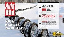 """""""Auto Bild"""": koja od 50 modela zimskih guma ima najbolju šaru?"""