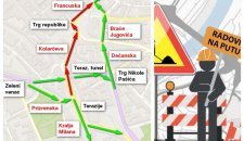NI TROLEJBUSA, NI AUTOMOBILA: Od 1. aprila se zatvara potez od Terazija do Trga republike