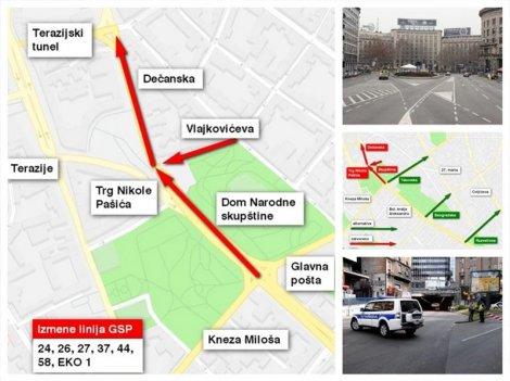Sve Informacije O Saobracaju I Zatvorenim Ulicama Beograd