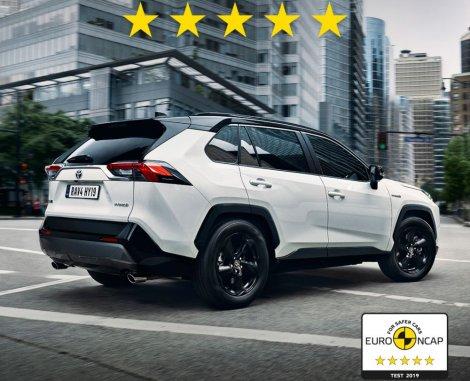Najviše ocene za bezbednost novih Toyota!