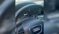 OČERUPAN AUDI Novosađanin ga parkirao ispred zgrade, a kada se vratio, umalo nije pao u nesvest (VIDEO)