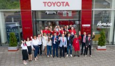 Toyota nagrađuje svoje najbolje partnere u Evropi, kako bi obezbedila bolju uslugu za vlasnike vozila ove marke
